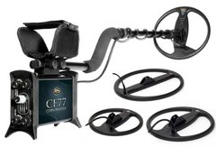 """Makro Coin Finder Pro Metal Detector with 9"""", 11"""", 17.5"""" Coils"""