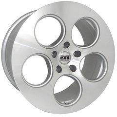 "Set of Four 18""x9"" ESM 020 Wheels - 5x100 /120/112 - Silver/Machined"