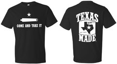 T-Shirts - Come and Take It Flag- 100% Texas Made Est. 1845
