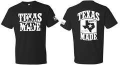 T-Shirts - Texas Made Polarized State - 100% Texas Made Est.1845