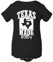 Baby Onesie - 100% Texas Made Est. 1845