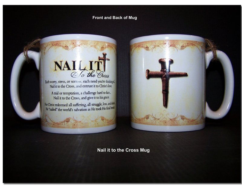 Salvation He Nailed It Picture and Nail it to the cross verse wit ...