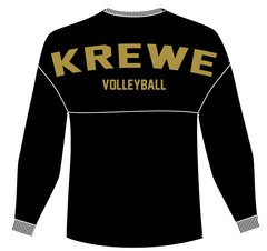 Krewe Volleyball Spirit Jersey