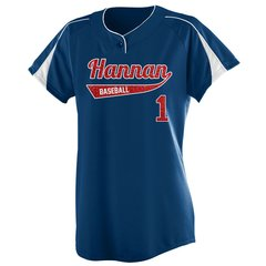 Hannan Baseball Fan Jersey - Glitter