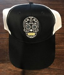 Sugar Skull our Logo Black or Blue Snapback one size fits all
