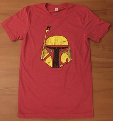 Youth KC Bounty Scout Unisex Super Soft Red Crew Tee