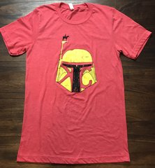 KC Bounty Scout Unisex Super Soft on Baby Blue and Red Crew Tee