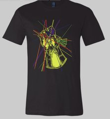 KC Gauntlet Solid Black Triblend Unisex Super Soft Crew Tee