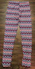 Chevron Leggings one Size Fits Most