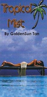 Tropical Mist Tanning by GoldenSun Tan
