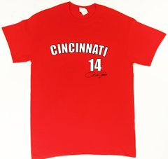 Officially Licensed Pete Rose #14 Shirt with Replica Signature