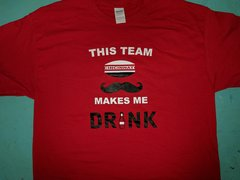 Cincinnati This Team Makes Me Drink shirt