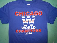 Chicago World Champions shirt