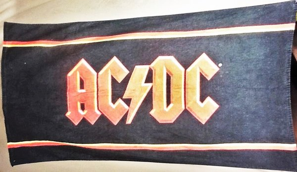 Ac Dc Classic Rock Graphic Beach Towel Wall Art