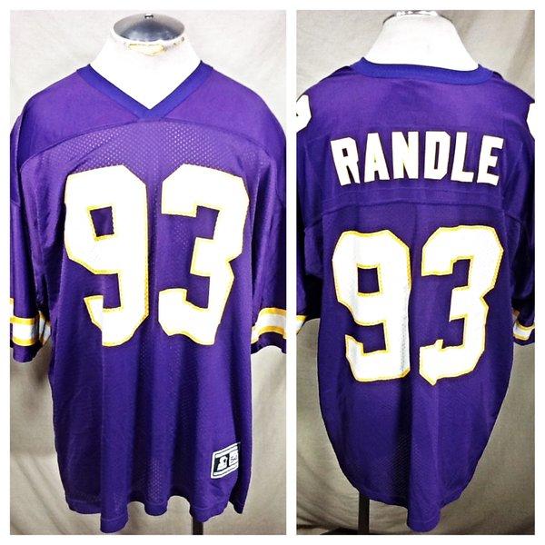 c3d827fabc0 ... 147.99. vintage champion john randle 93 minnesota vikings 2xl 52 retro  nfl football jersey