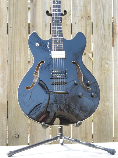 SOLD!! Delta King Semi hollow body 6 string electric guitar with Seymour Duncans