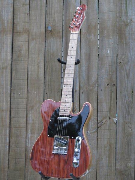 SOLD!! Custom Baja Tele style 6 string solid body electric guitar
