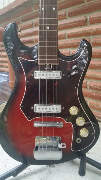 teisco (unbranded) 1960's audition model 6 string electric ... gm throttle body wiring diagram