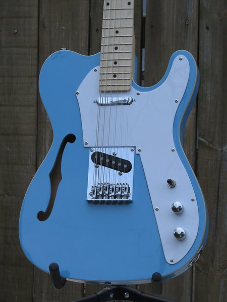 SOLD!! 12 String Thinline Telecaster Style Electric Guitar