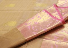 Golden Rose Pure Kanchipuram Silk Saree