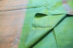 Sea Green & Blue Uppada Soft Silk