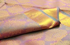 Soft Lavender Pure Kanchipuram Silk Saree