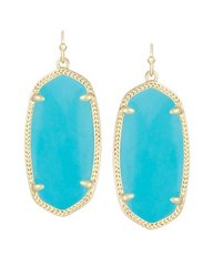 Kendra Scott Elle Earrings in Gold with Turquoise