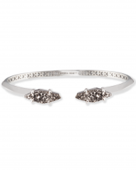 Kendra Scott Bianca Cuff Bracelet in Platinum Drusy