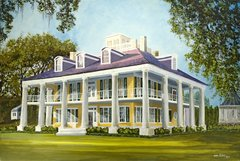 """Houmas House Plantation"" ... 5x7 Note Cards & Assorted Size Paper Prints"