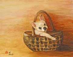"""Take Me Too"" ... French Bulldog, 5 x 7 Note Cards & Assorted Size Paper & Canvas Prints"
