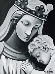 """Madonna & Child"" ... Assorted Size Paper & Canvas Prints"