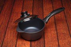 Nonstick Induction Saucepan w/ Lid - 1.4qt