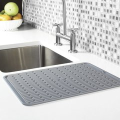 OXO LARGE SILCONE DRYING MAT - GRAY