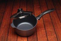 Nonstick Induction Sauce Pan w/ Lid - 3.2qt