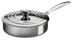 3qt. Stainless Steel Saute Pan w/ Lid