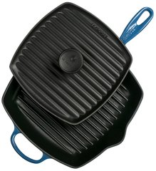 Panini Press and Signature Square Skillet Grill Set - Marseille