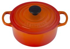 2qt. Signature Round Dutch Oven - Flame