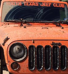 Orange Windshield Banner