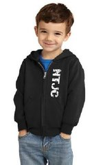 NTJC Toddler Classic Zipper Front Hoodie