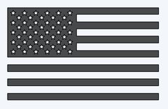 America Flag Decal