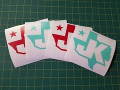 """Texas JK Decal 5.5"""" TONS OF COLORS AVAILABLE"""