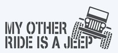 My Other Ride is a JEEP!