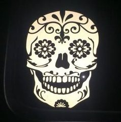 Sugar Skull Decal *Several Sizes to Choose From*