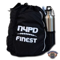 NYPD Finest Football Ogio Drawstring Sling Bag / Backpack