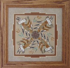 Sand painting - 14 Inch - Harvest - NOW 35% OFF