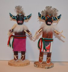 Kachina Doll - 7 Inch Broadface Ogre - NOW 60% OFF