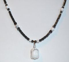 Howlite Turtle Necklace 30% OFF
