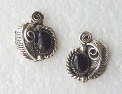 Onyx Post Earrings