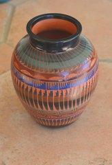 Etched Indian Ginger Jar - NOW 40% OFF