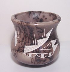 Horsehair Vase #90A 35% OFF